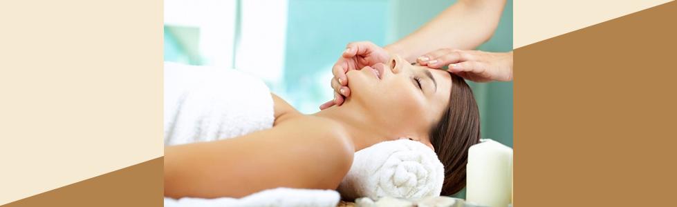Massage with Veil